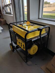 Champion Power Equipment 5500-Watt Portable Generator with Wheel