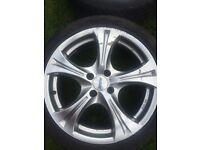 """17"""" Alutec Alloy wheels"""
