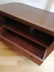 FREE - TV Stand with drawer. Solid wood. Good condition.