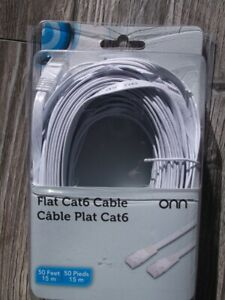 50ft Flat Cat6 Cable. Pick up in Fall River