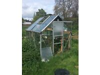 Free greenhouse to dismantle & collect asap
