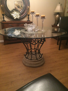 Bombay Glass Dining Table!