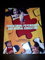 Educational Psychology and Special Education EDUC 5005 Althouse