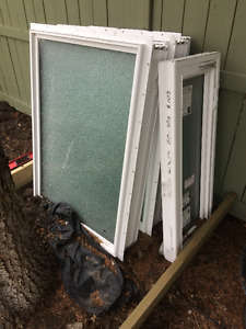 Five Frosted Windows - Price Negotiable.