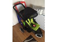 Phil and teds double buggy new