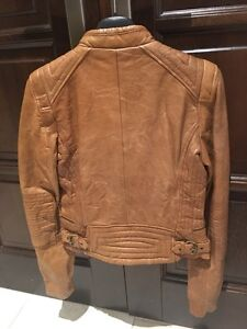 Zara leather jacket - Brand New with tags (veste cuir) West Island Greater Montréal image 3