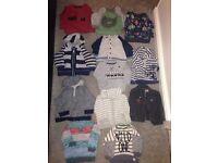 Baby boy 6-9 month jumper bundle
