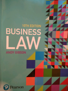 Commercial Law Book 10 th edition Andy Gibson