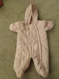 Baby girl 3 6 month snowsuit