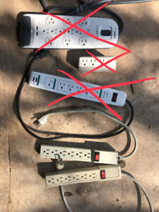 2x Power Bars/Power strips