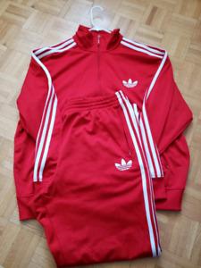 Adidas track suit mens xl