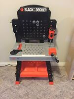 Little tikes work bench with tools