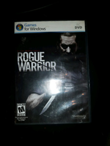 "PC game ""  Rogue Warrior """