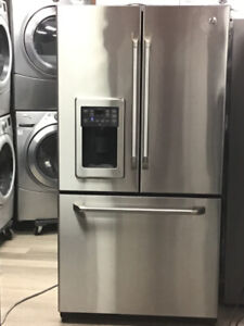 "36"" GE CAFE FRENCH DOOR REFRIGERATOR"