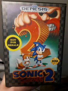 Sonic The Hedgehog 2 Genesis CIB