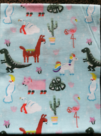 🦄🦕🐘 New COTTON fat quarter fabric for crafts, masks