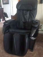 Massage chair, perfect for movies