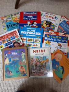 Large lot of 10 French Children's Books - All in great shape