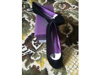 Blowfish black ladies shoes size 6