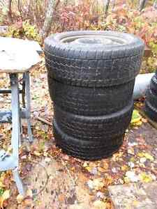 235-55-17 rims and tiers off of mustang