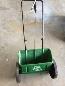 Barely used drop spreader