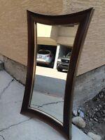 Mirror for bath or bedroom