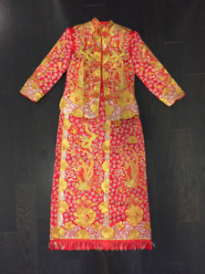 Chinese Wedding Tea Ceremony Dress (Qua)