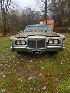1969 Lincoln Mark III for Parts