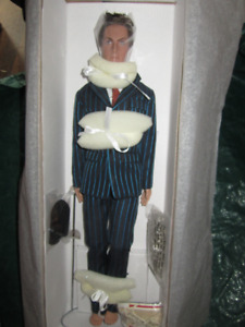 dr. who doll from the dr. who series.