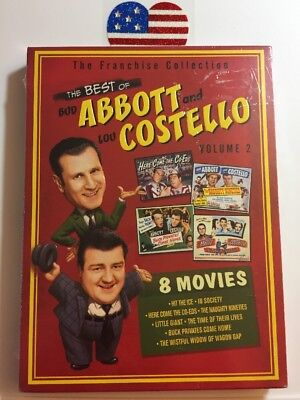 BEST OF ABBOTT COSTELLO DVD Vol 2 Red Volume Hit Ice In Society Here New (Best Of Club Hits Volume 2)