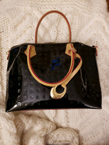 Italian patent leather purse (brand: Arcadia)