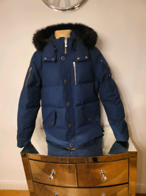 Moose knuckle 3Q fur GLXY blue Size M,L, XL