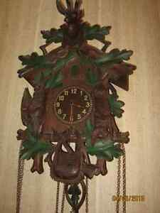 Genuine Black Forest CUCKOO Clock from Germany 1800's