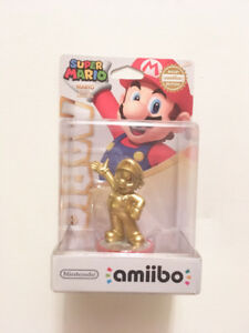 Gold Mario amiibo new in box