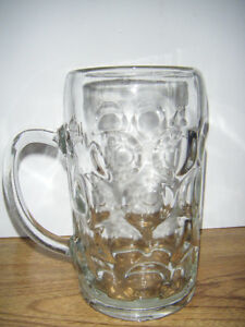 Collectible Glass Beer Mug for sale