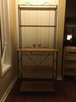 IKEA BAR STAND WITH LOTS OF STORAGE