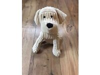 Toy Dog teddy door stop by Landon Tyler