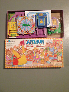 Arthur and Mouse Trap Games