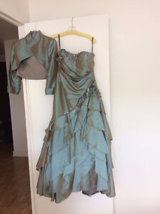 evening gown worn once!