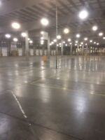 Warehouse Concrete floor cleaning and power washing
