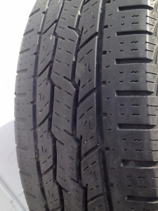 Set of 4  General Summer tires  LT 245/75/17