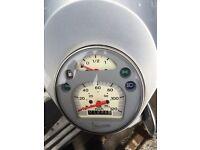 Vespa 125cc touring 1500 miles