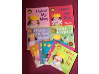 Little princess books x10