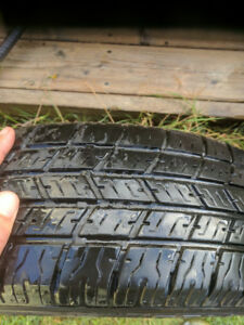 2 Telstar weatherizer tires 185/70/14