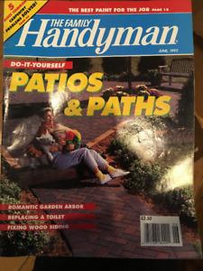 Revues sur le travail du bois , Handyman, bricolage