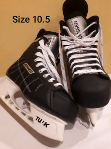 New Man's Skates Size 10.5. Sharpened but never used.