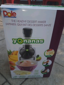 Yonanas Healthy 'ice cream' maker