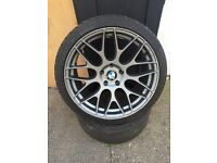 "19"" BMW ONIX ALLOY WHEELS 3 SERIES COUPE E90 E60 F10 5 SERIES 7 SERIES SET OF 4"