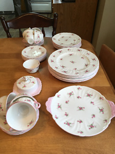 Shelley Bone China, Bridal Rose