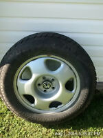 Four, 17 Inch Tires and Rims for Sale
